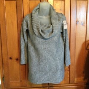 Lou & Grey cowl neck slouchy sweater NEW